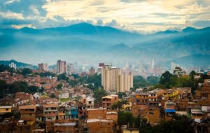 Medellin city panoramic view - Colombia