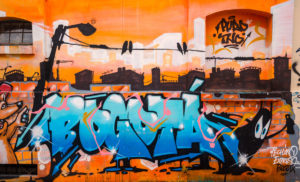 Bogota Wall Graffiti - Bogota