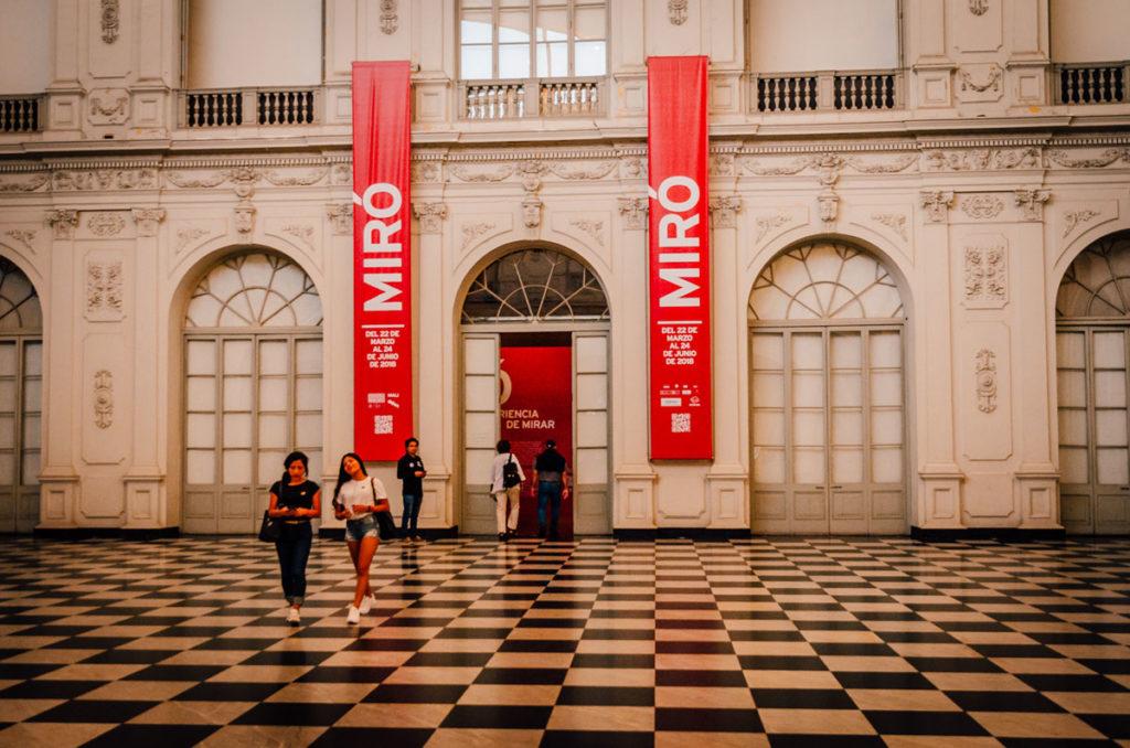 Museo de Arte interior - Peru
