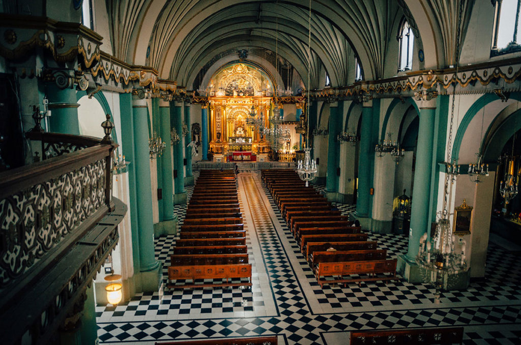 Basilica and Convent of Santo Domingo - Peru