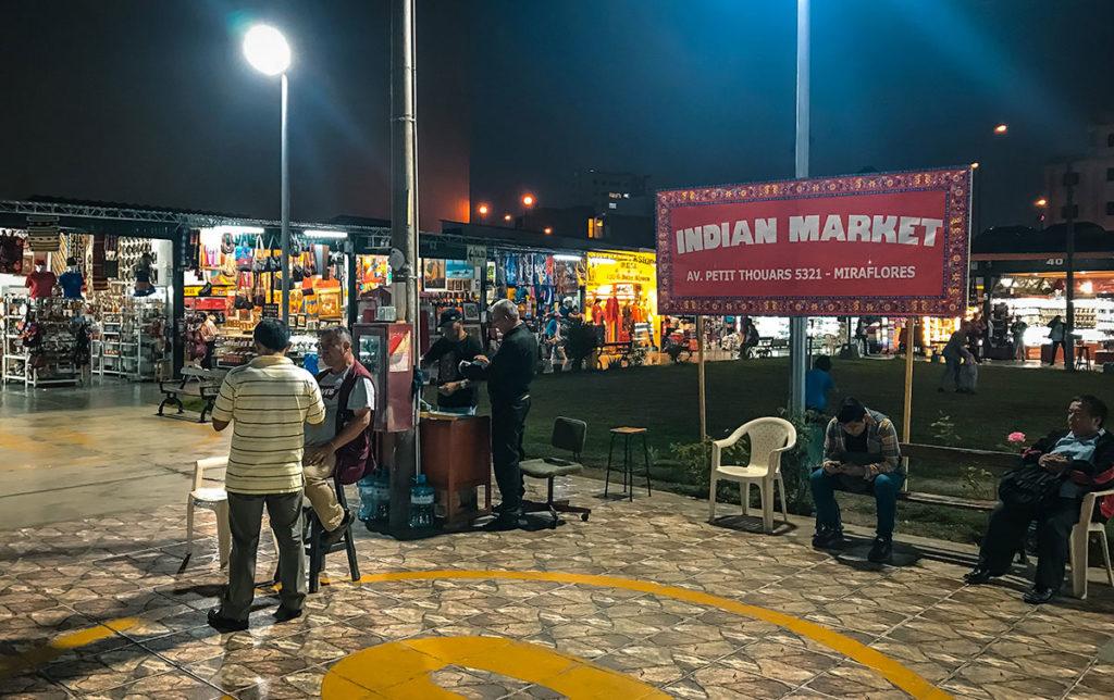 Miraflores Indian Market - Peru