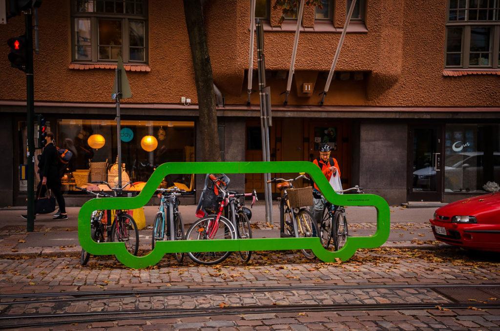 Bicycle Parking Space - Helsinki