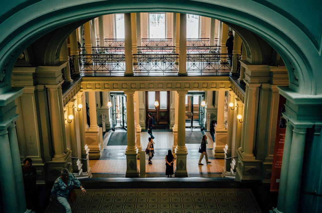 Ateneum Art Museum interior - Helsinki