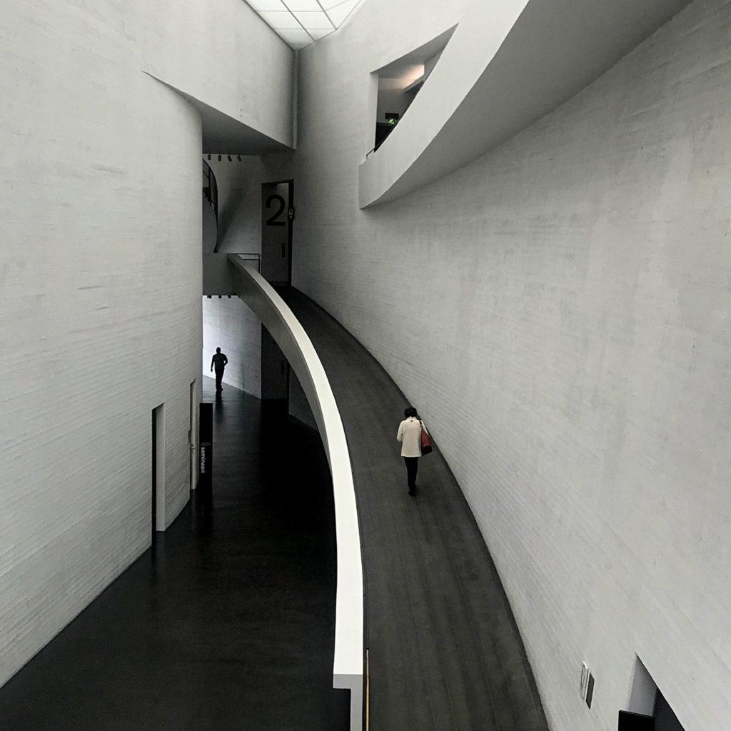 The Kiasma Museum ramp - Helsinki