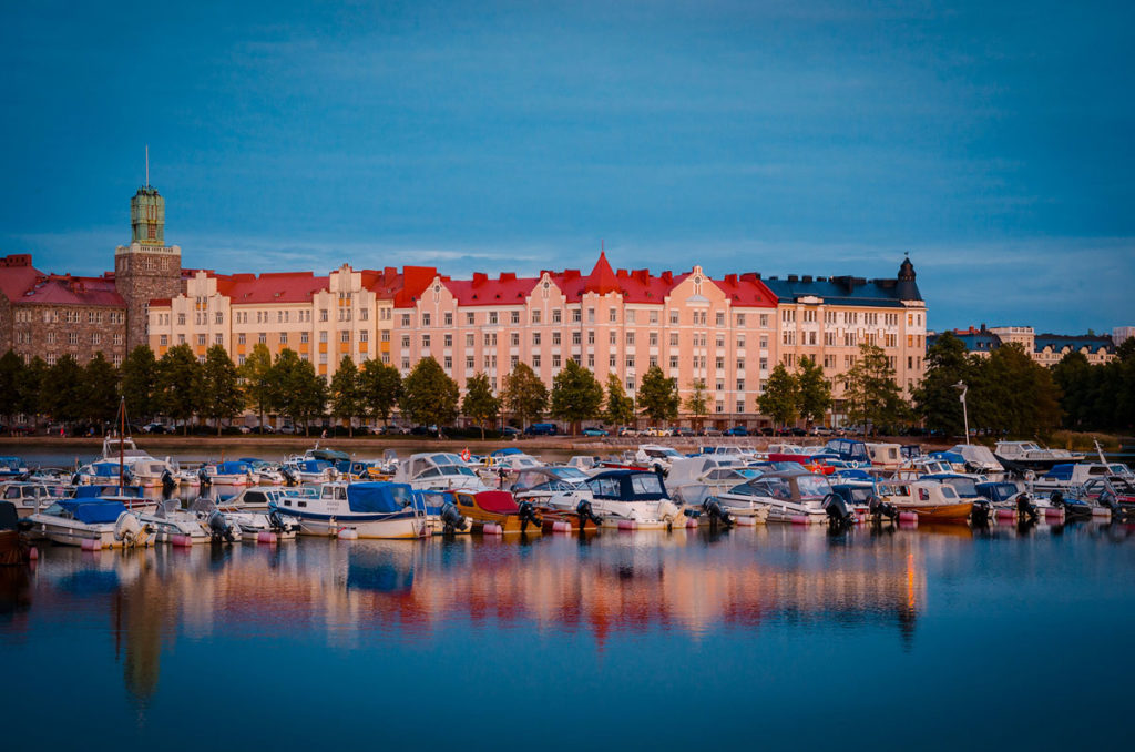 Eläintarhanlahti Bay - Helsinki