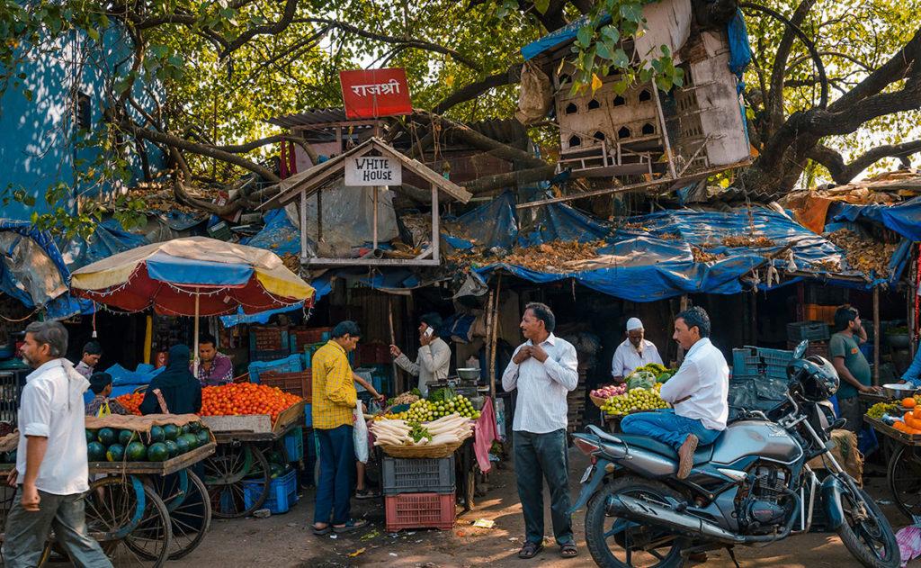 Fruit and vegetable market - Dharavi