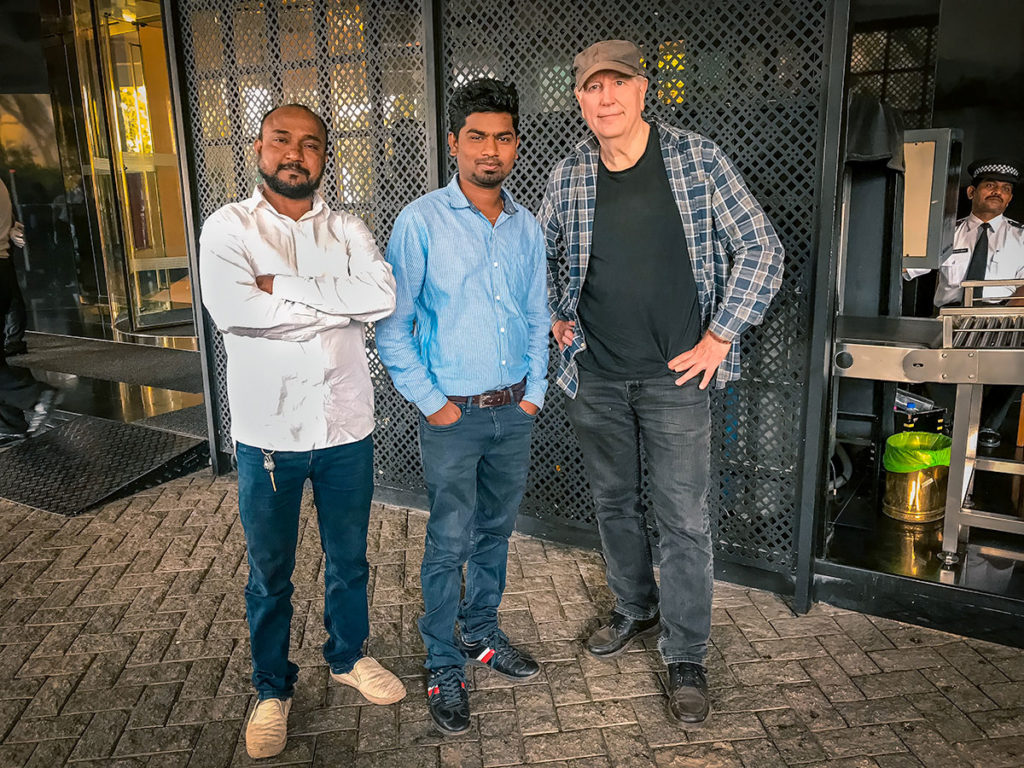 Ed with Altaf and Arjun - India