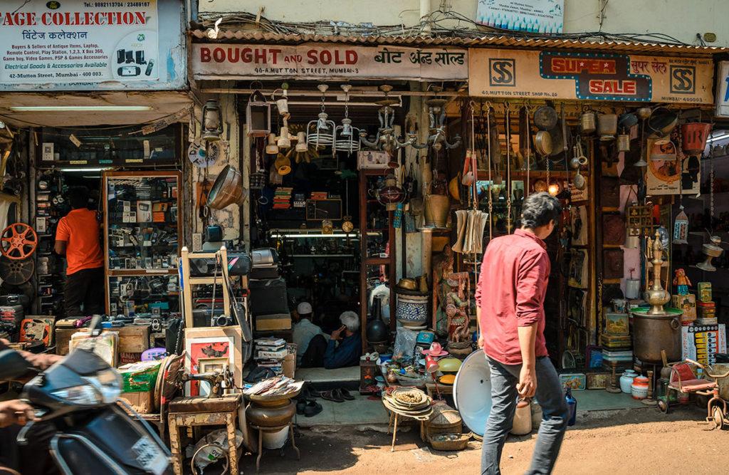 Chor Market Shops - Mumbai