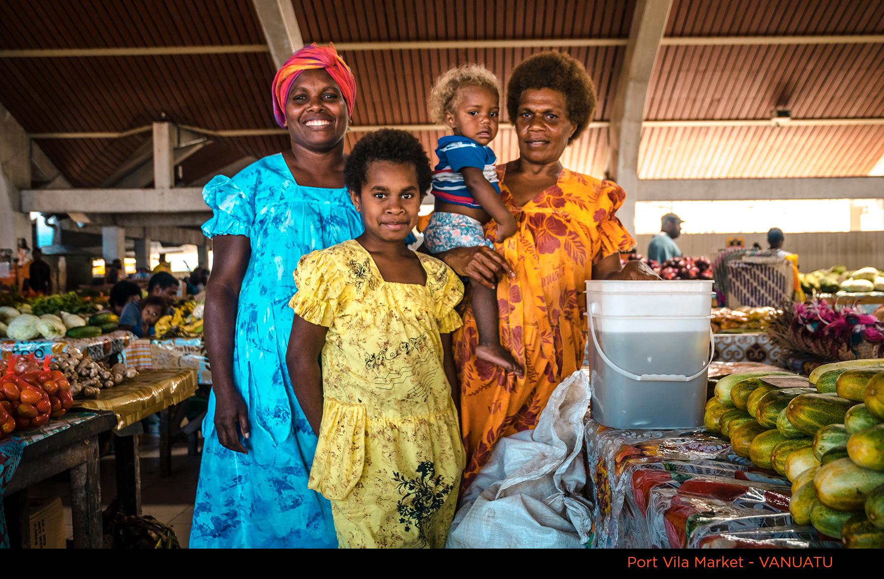 Port Vila Market Women