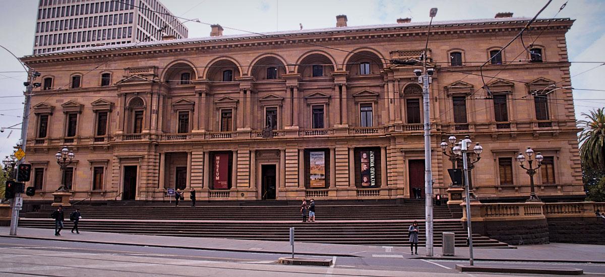 Melbourne Old Treasury Building