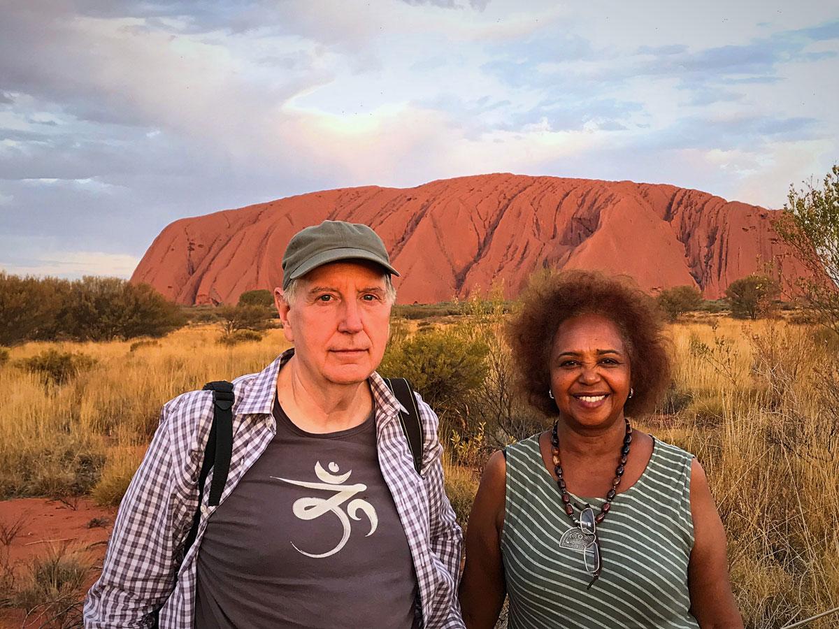Exploring Ed Uluru