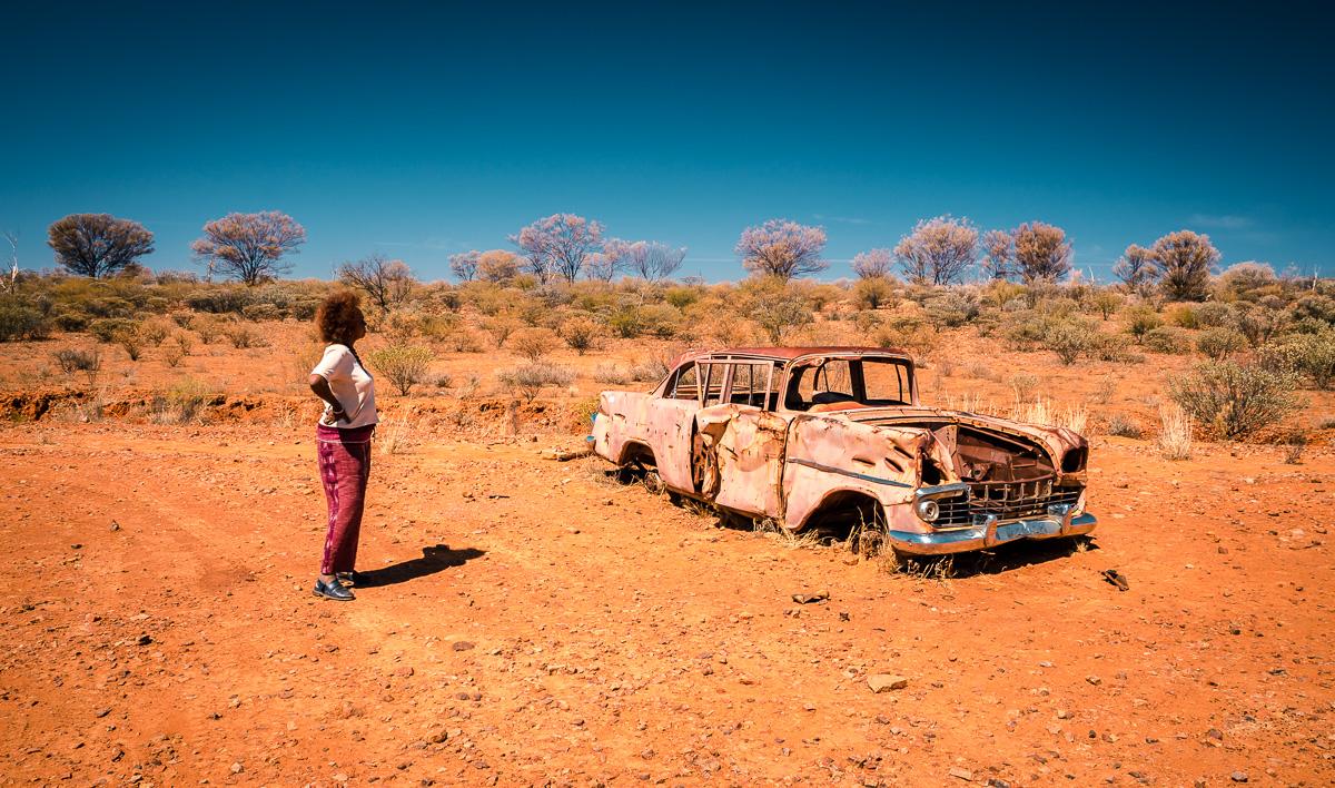 Outback Abandoned Car