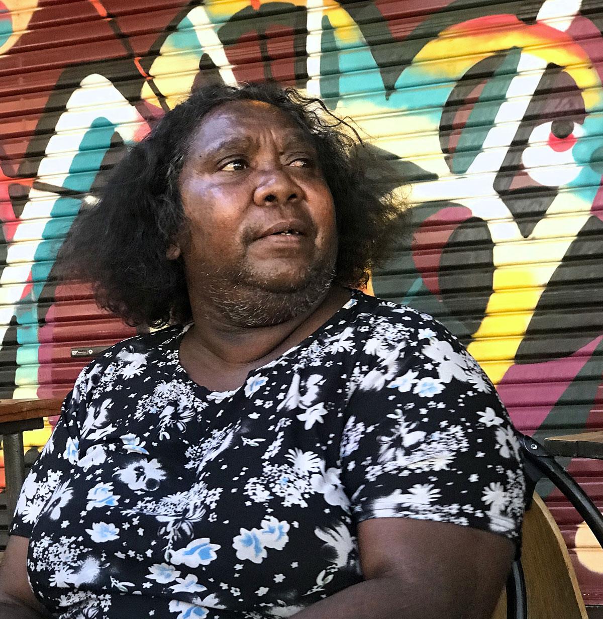 Alice Springs Indigenous Woman