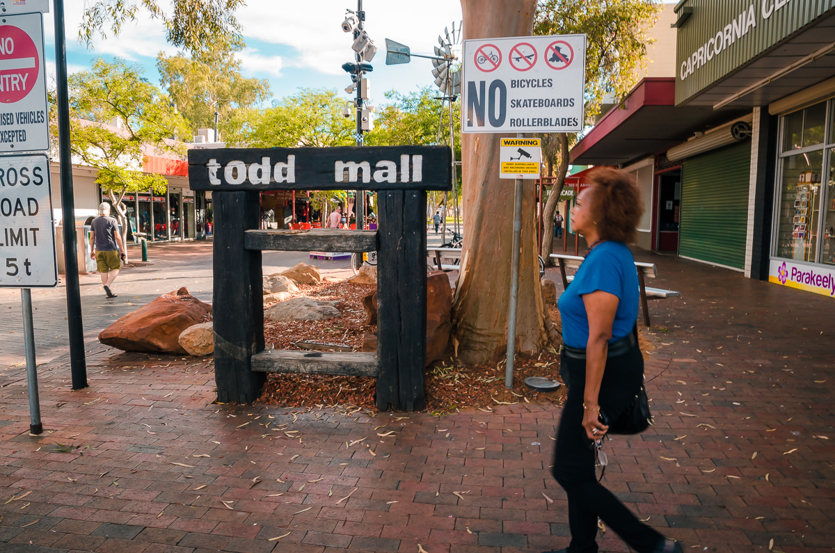 Todd Mall Alice Springs