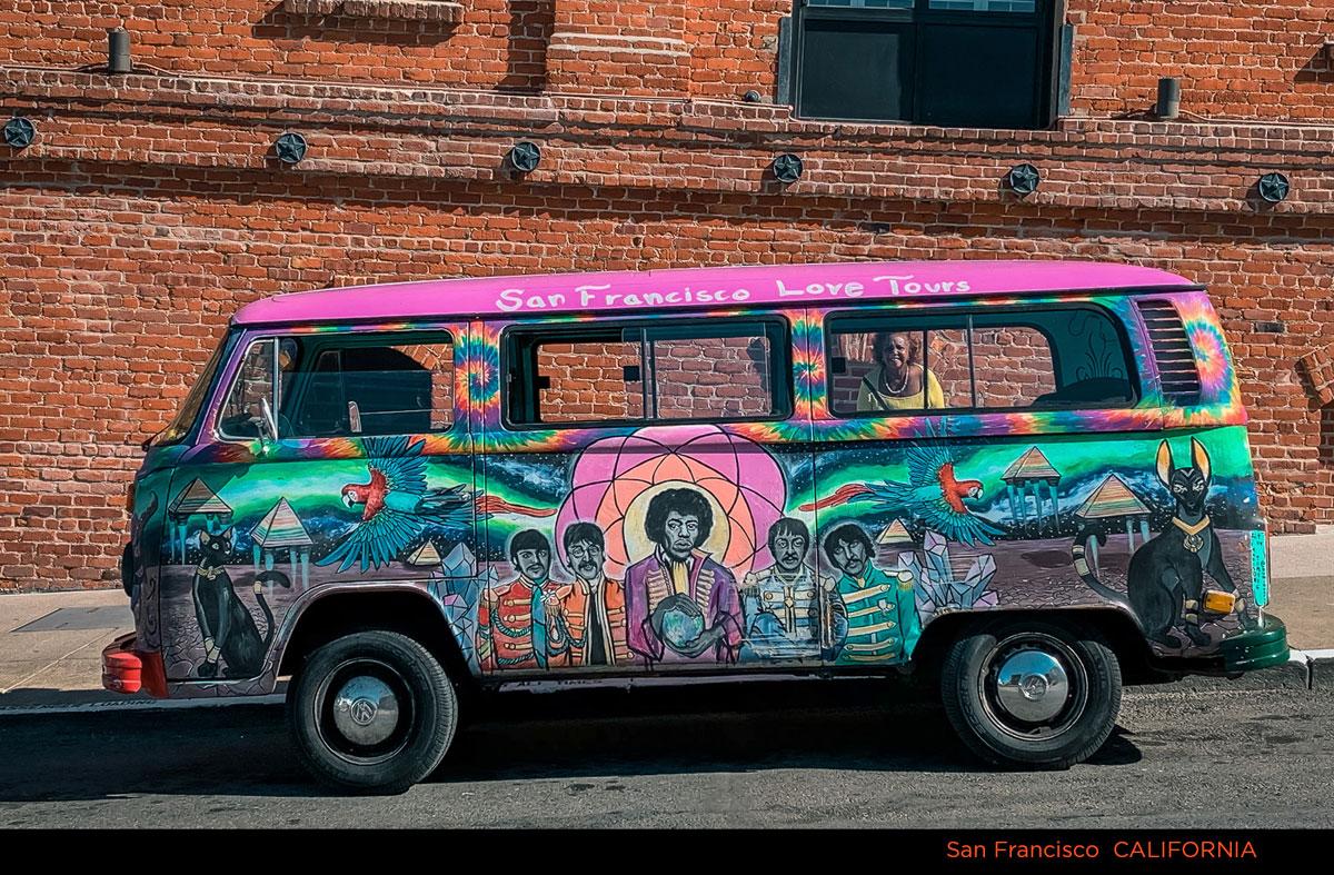 San Francisco Psychedelic Bus