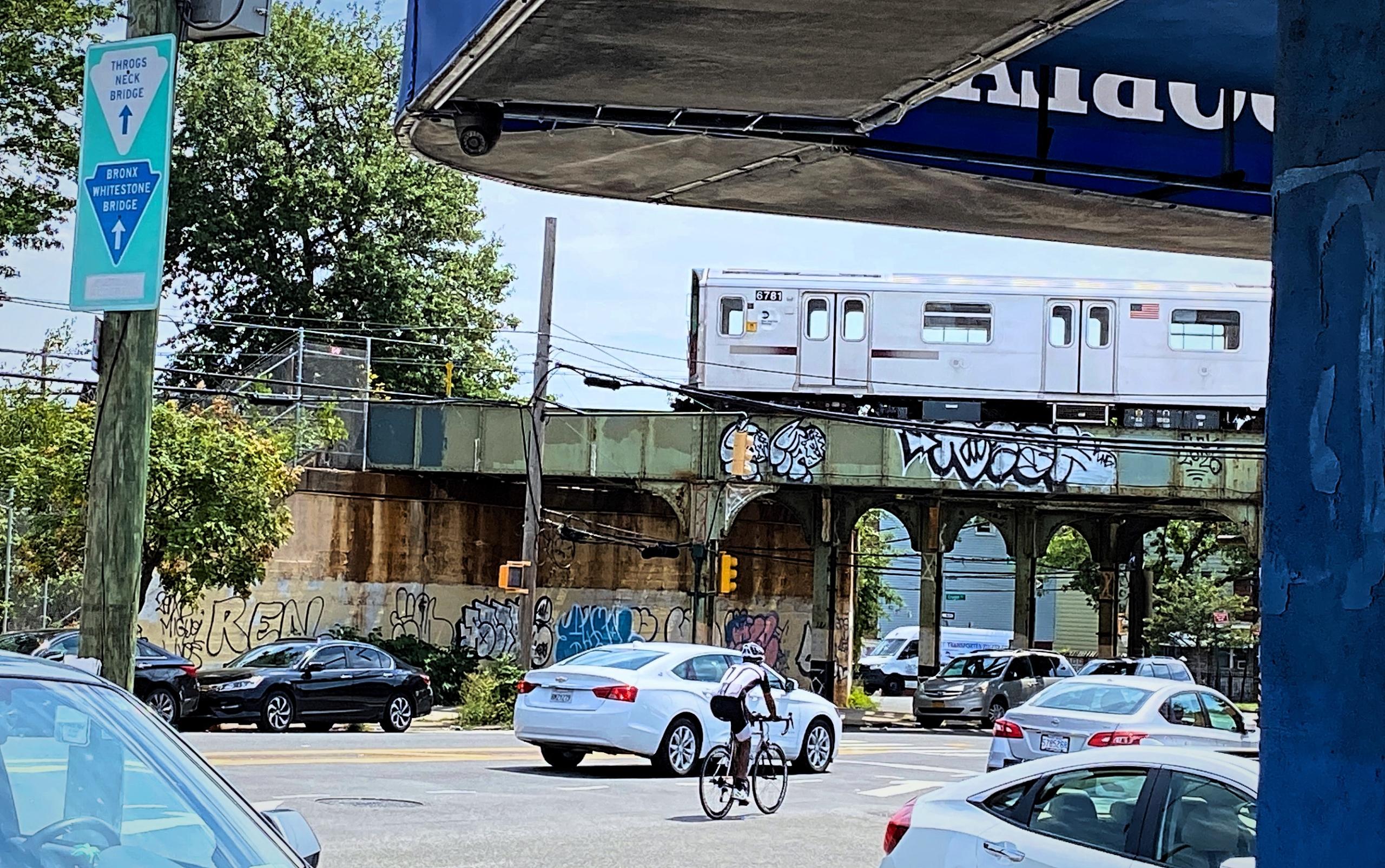 Biking in the Bronx