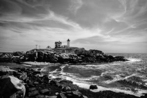 Cape Neddick Lighthouse in Maine