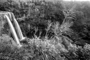 Wailua Falls in Kuahi Island