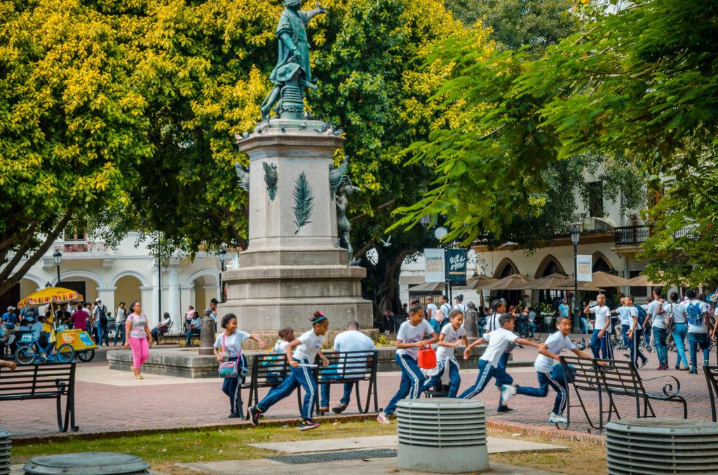 Parque de Colon, Santo Domingo