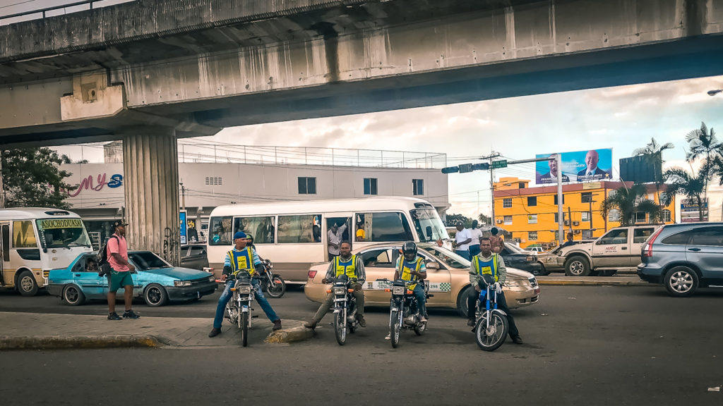 Santo Domingo Motorcycle Taxis