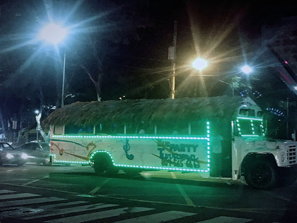 Party Bus, Santo Domingo, Dominican Republic
