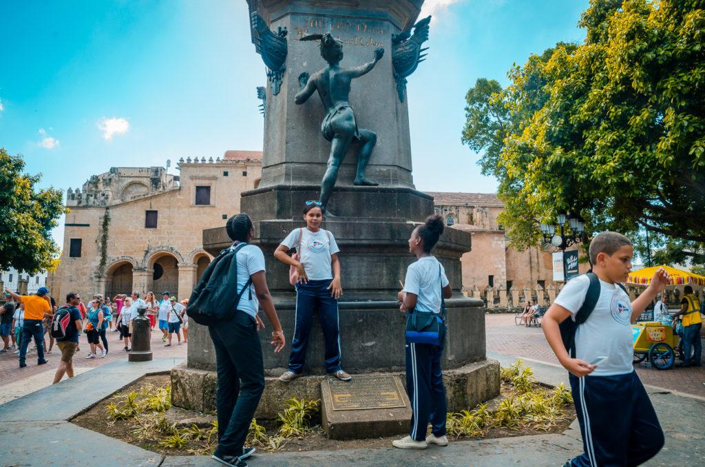 Columbus Statue, Parque Colon, Santo Domingo