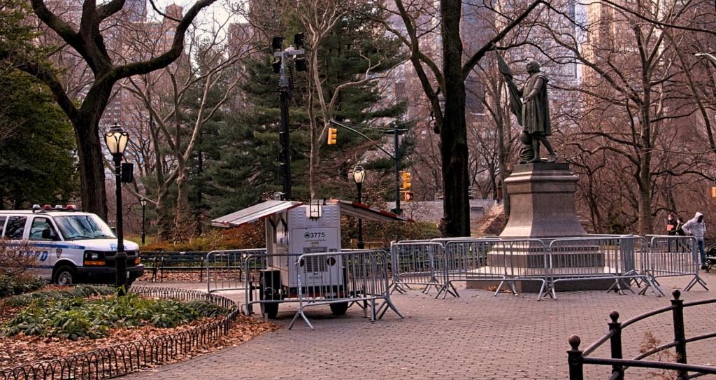 Columbus Statue Central Park