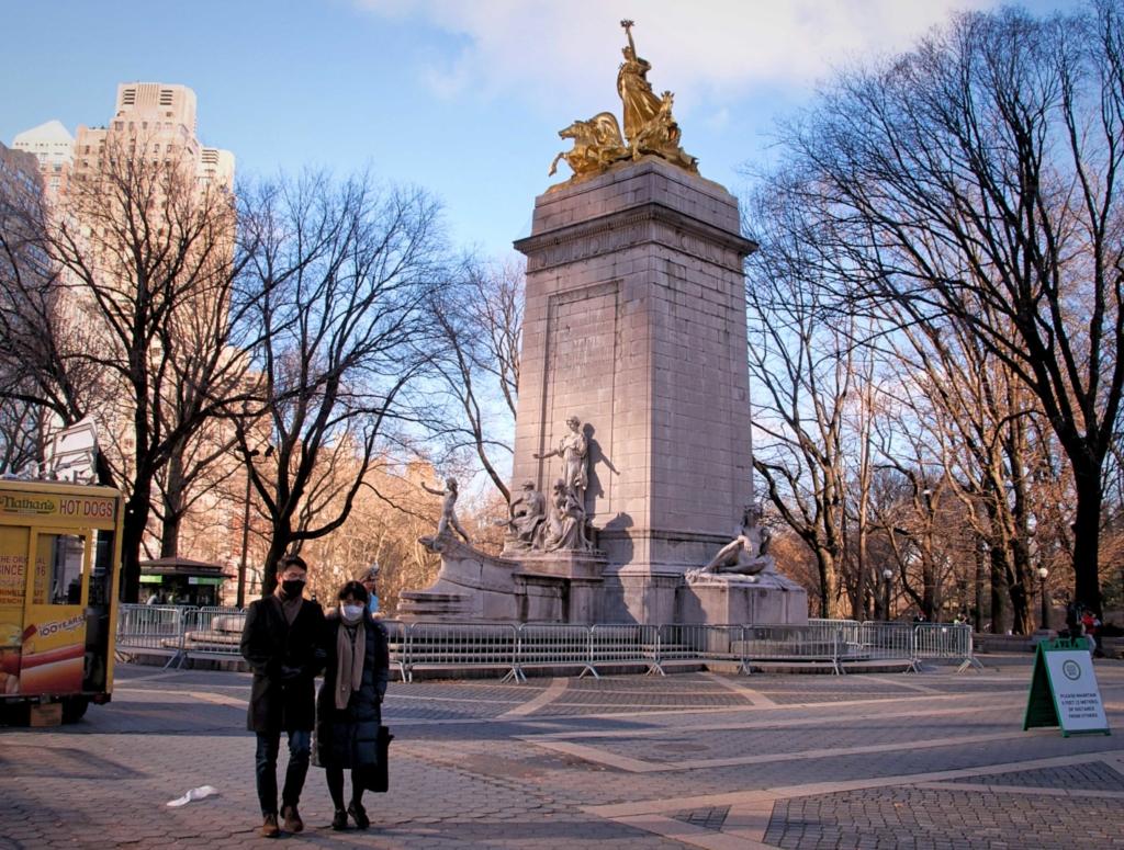 Central Park Maine Monument