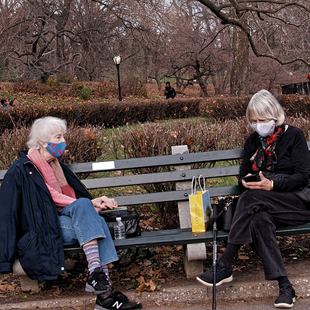 Elderly Women in Central Park