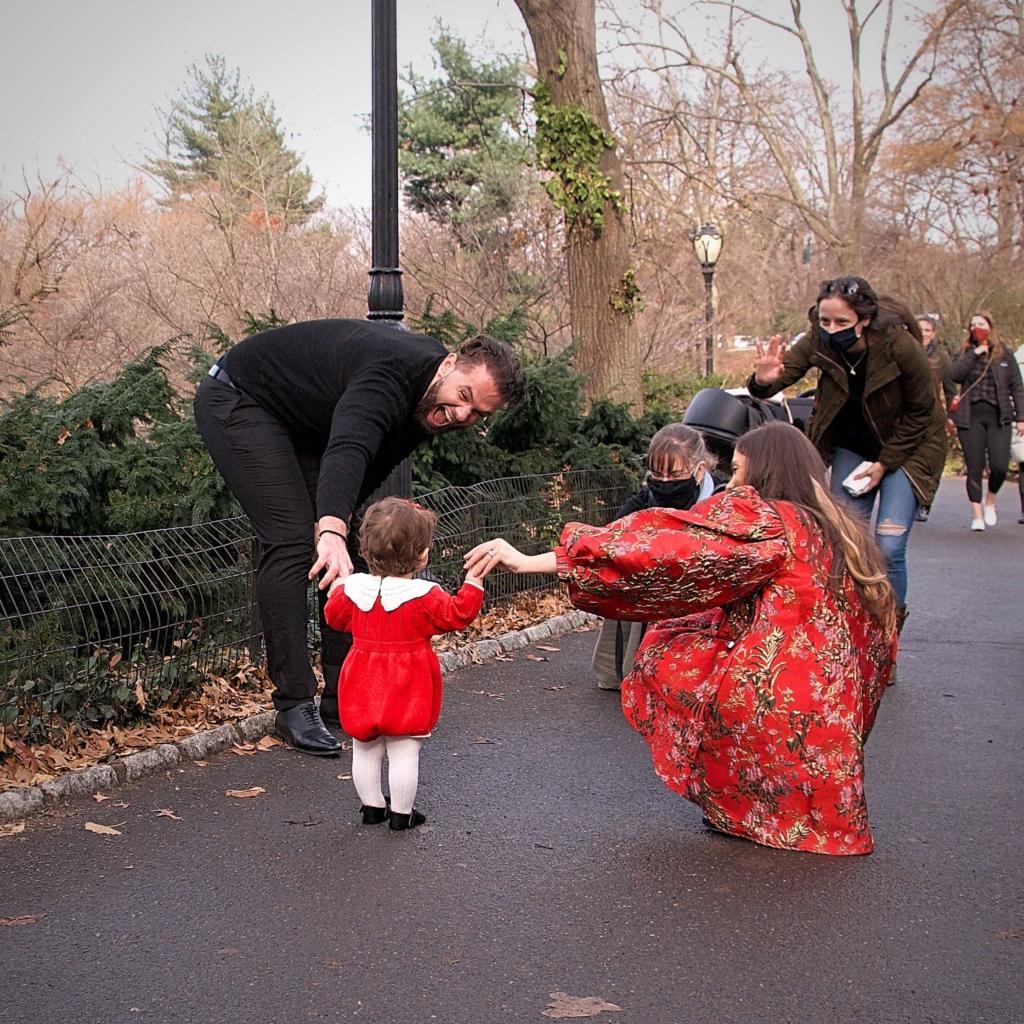Central Park Family Portrait