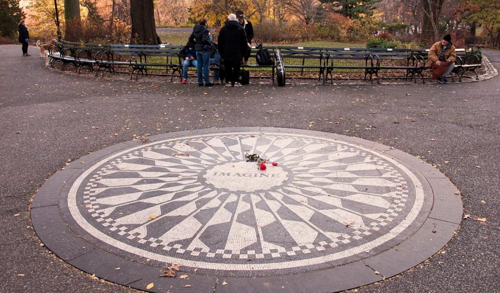 Imagine Mural, Strawberry Fields, Central Park