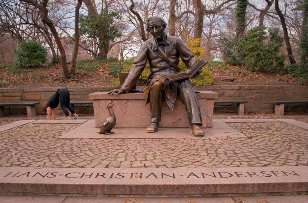 Hans Christian Andersen Monument Central Park
