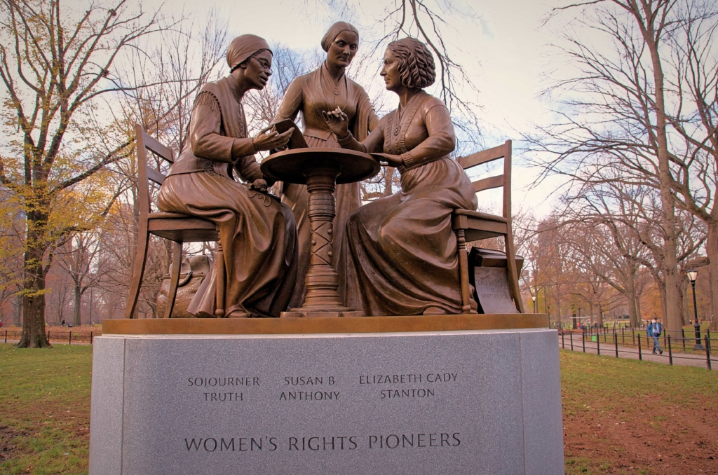 Women's Rights Pioneers Monument Central Park