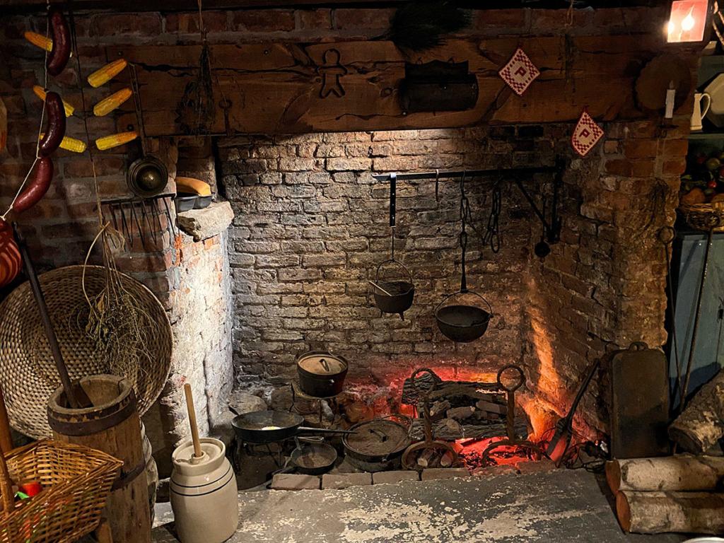 Vander-Ende Onderdonk House Fireplace