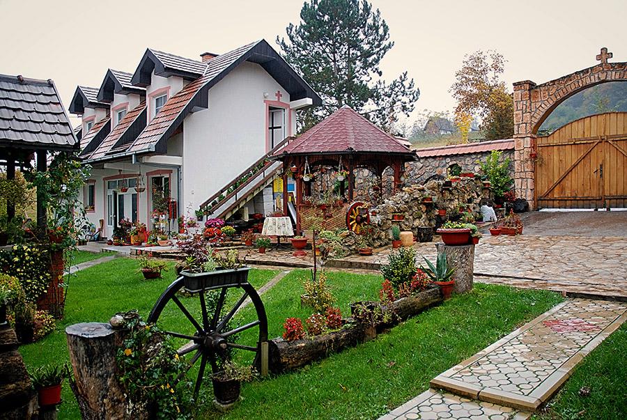 Saint Nicholas Serbian Monastery by Ljubovija