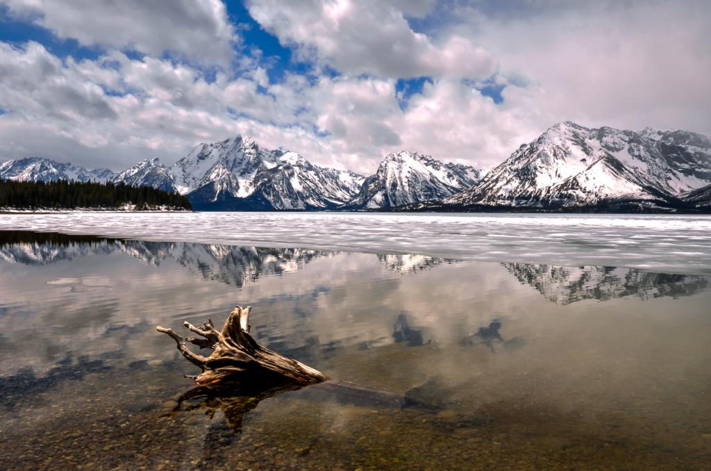 Grand Tetons, Jackson Lake