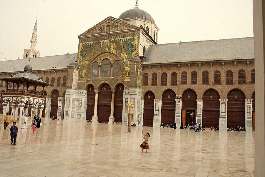 Damascus- Umayyad Mosque 10-1