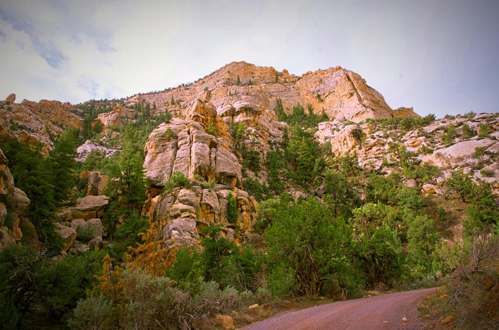 Echo Park Road Rock Formation, Dinosaur National Monument