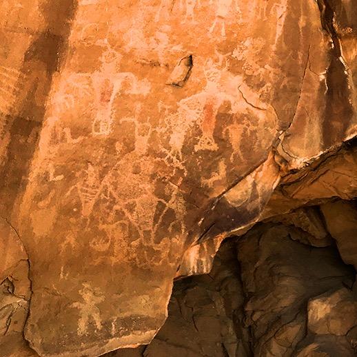 Cub Creek Road Petroglyphs