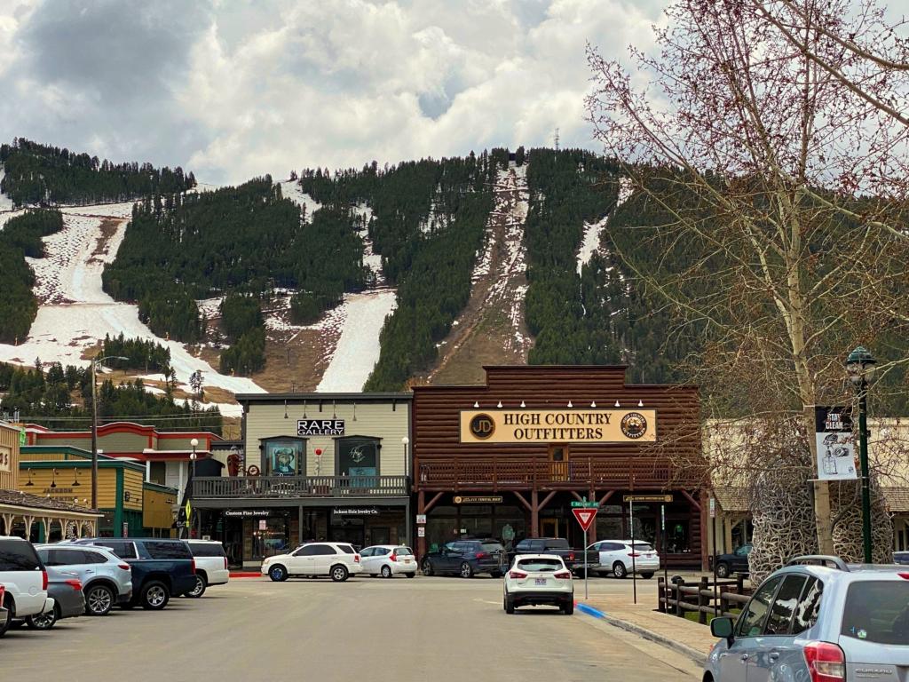 Jackson WY Ski Slope