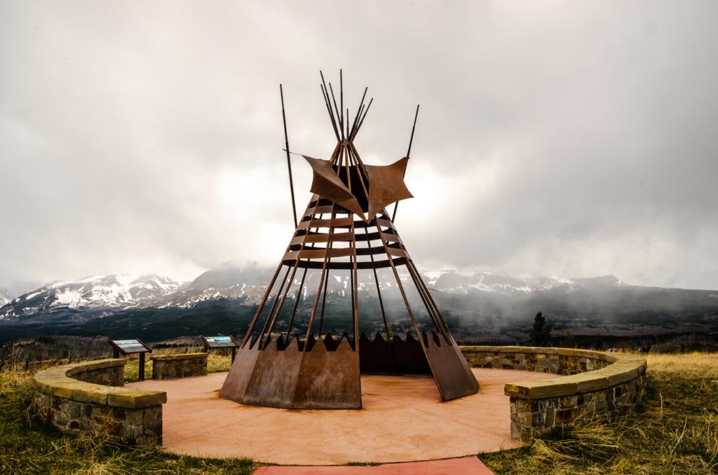 Blackfoot Teepee Installation