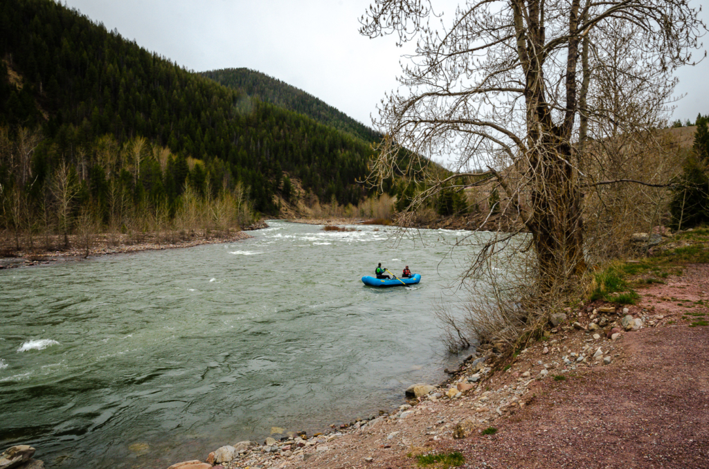 Rafting - Glacier NP