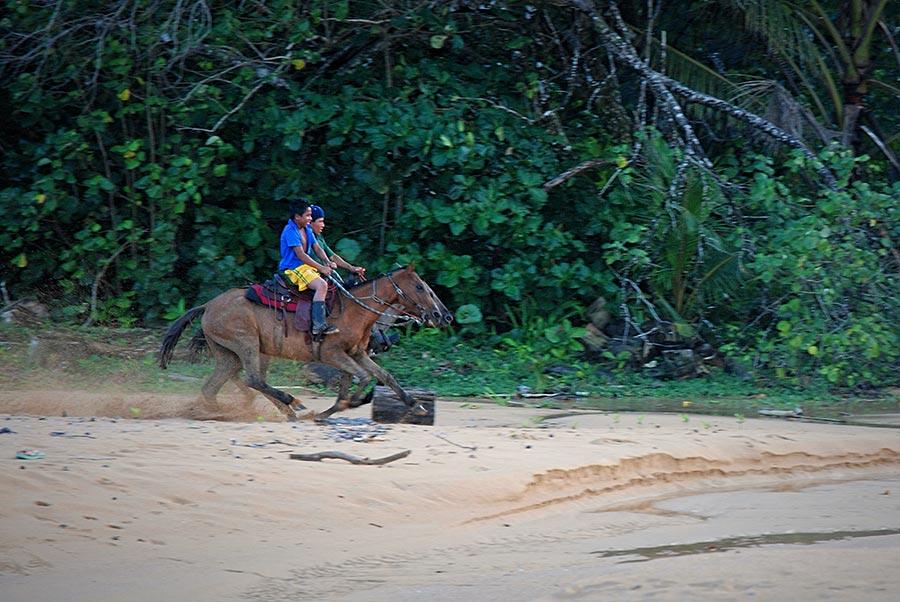 Bocas del Toro - Boys on Horses