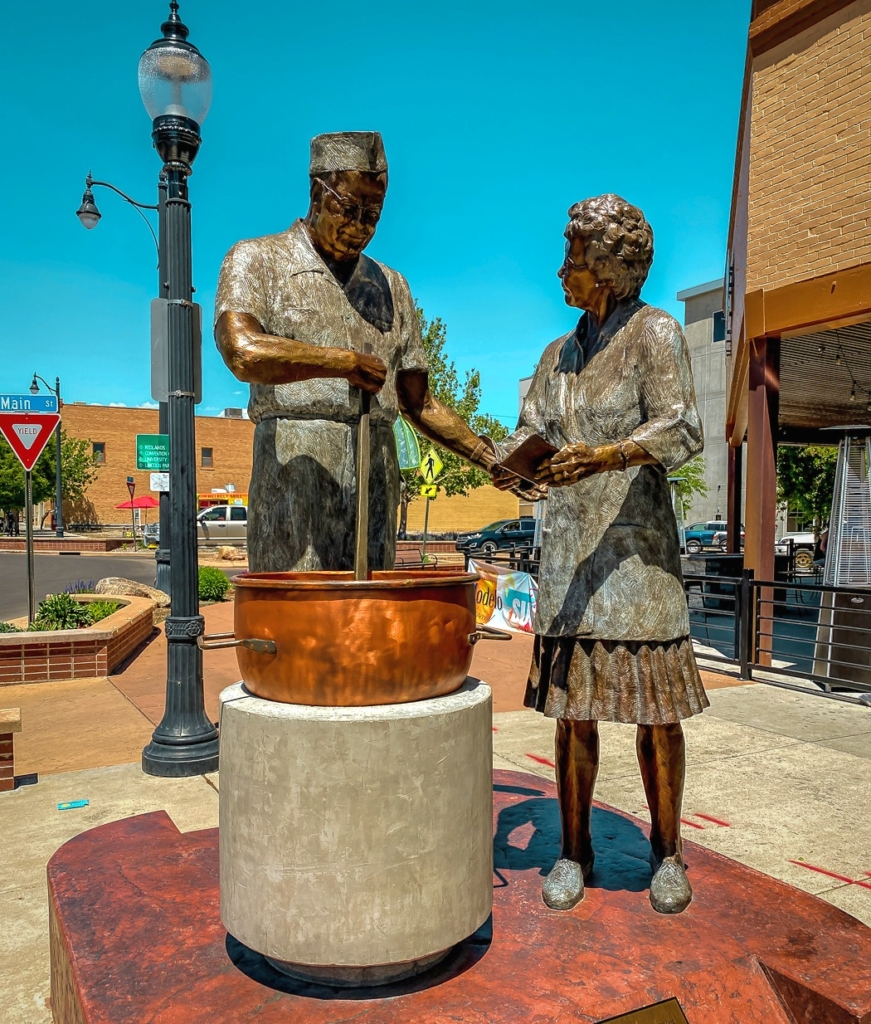 Candymakers Statue - Grand Junction CO